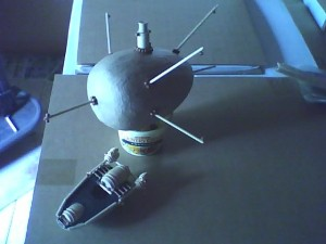 Airship Model - early stages