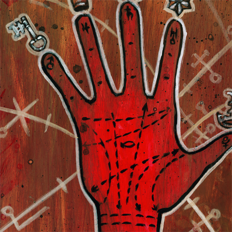 Red Right Hand detail